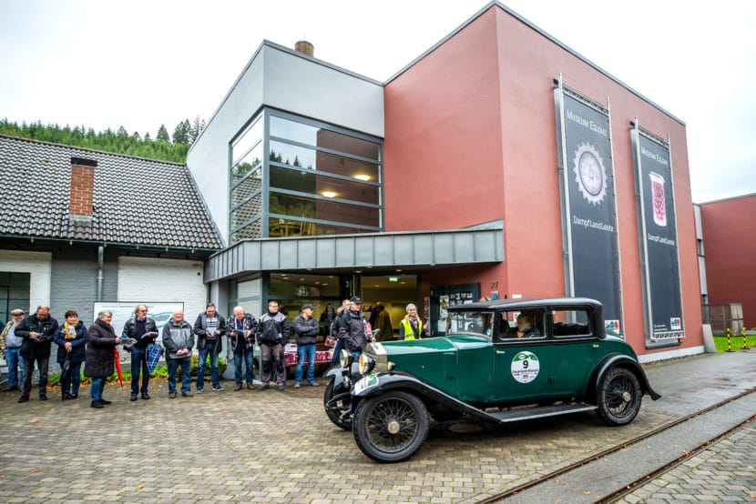 """Das Technik-Museum """"Dampf-Land-Leute"""" lädt erstmals zum Abendstopp, inklusive Bewirtung der Teilnehmer zwischen den Exponaten."""